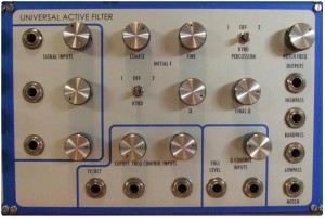 Exclusively Analogue - Universal Active Filter
