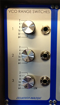 Exclusively Analogue - Voltage Controlled Low Pass Filter