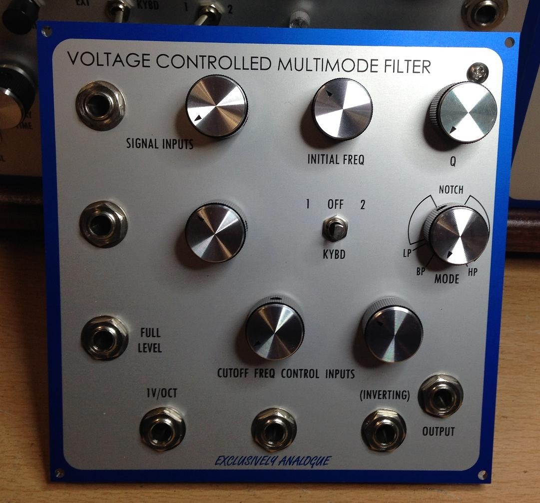 Exclusively Analogue - Multimode Filter